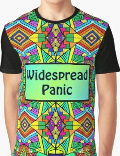 WP - Widespread Panic - Psychedelic Pattern 2 Graphic T-Shirt