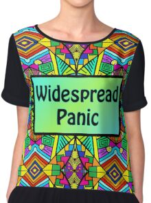 WP - Widespread Panic - Psychedelic Pattern 2 Chiffon Top