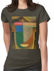 Vintage famous art - Alexei Jawlensky  - Abstract Head Womens Fitted T-Shirt