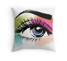 Eyeful Throw Pillow