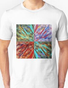 Abstraction Alteration - Abstract Painting - Bright Colorful Unisex T-Shirt