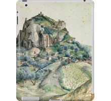 Vintage famous art - Albrecht Durer - View Of The Arco Valley In The Tyrol iPad Case/Skin