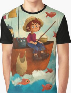 Traveling in the Clouds Graphic T-Shirt