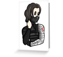 Bucky Barnes - The Winter Cutie Greeting Card