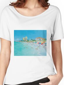 Clearwater Beach, Florida Women's Relaxed Fit T-Shirt