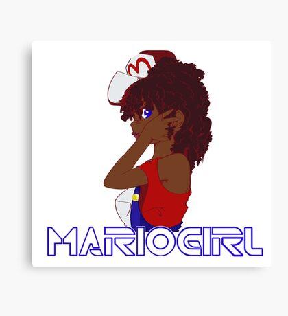Gamer Girl Canvas Print