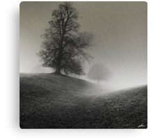 Fight or Flight - With Grain Canvas Print