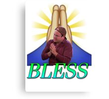 George Costanza - Bless Canvas Print