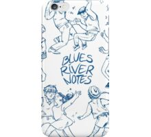 Blues River Notes iPhone Case/Skin