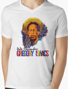 We Remember Gregory Isaac Mens V-Neck T-Shirt