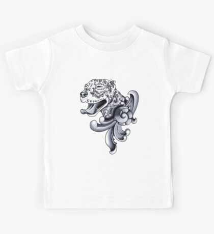 Ornamental Pit Bull Kids Tee