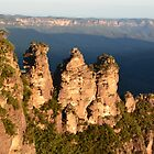 3 Sisters Blue Mountains by Paul Birch
