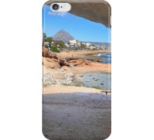 The coastal path Javea Spain iPhone Case/Skin