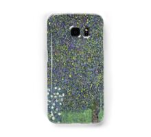 Gustav Klimt - Roses Under The Trees-   Gustav Klimt - Landscape Samsung Galaxy Case/Skin