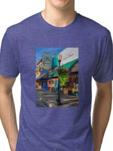 Historical Whiskey Row Prescott Arizona Tri-blend T-Shirt