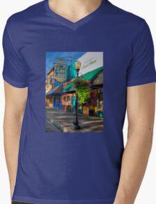 Historical Whiskey Row Prescott Arizona Mens V-Neck T-Shirt
