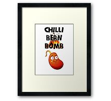 Chilli Bean Bomb Framed Print