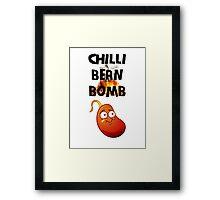 Chilli Bean Bomb Framed Print