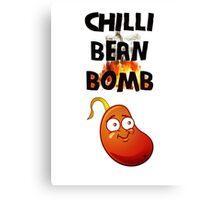Chilli Bean Bomb Canvas Print