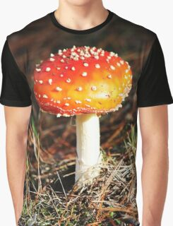 Fairytale mushrooms Graphic T-Shirt