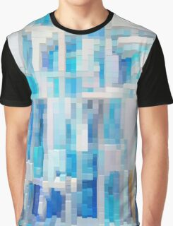 Abstract blue pattern 2 Graphic T-Shirt