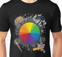 Artist Tools - Color Wheel Unisex T-Shirt