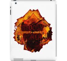 Bloody poker iPad Case/Skin