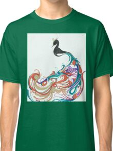 Abstract peacock Classic T-Shirt