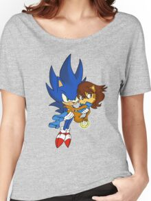 Sonic and Sally Women's Relaxed Fit T-Shirt