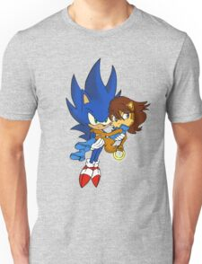 Sonic and Sally Unisex T-Shirt