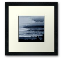 Abstract black painting 2 Framed Print