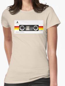 Cassette tape vector design Womens Fitted T-Shirt