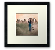 The Time Garden - The Girl Who Leapt Through Time Framed Print