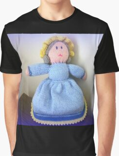 Hand Made knitted Doll  Graphic T-Shirt