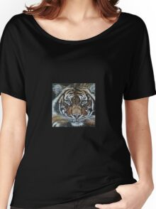 Mesmerized Tiger Women's Relaxed Fit T-Shirt
