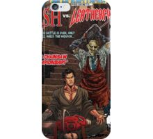 ASH LEATHER FACE EVIL DEAD iPhone Case/Skin