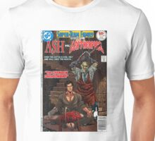 ASH LEATHER FACE EVIL DEAD Unisex T-Shirt