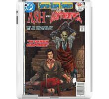 ASH LEATHER FACE EVIL DEAD iPad Case/Skin