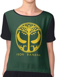 IRON BANANA Chiffon Top