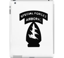 Special Forces Airborne iPad Case/Skin
