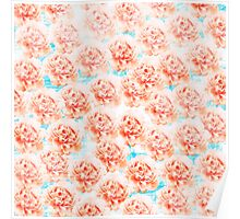 Abstract floral pattern 5 Poster