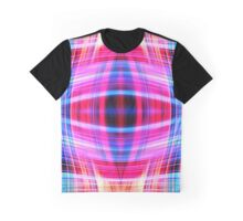 Blue and pink light trails Graphic T-Shirt