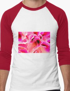 Fantasy in Pink Men's Baseball ¾ T-Shirt