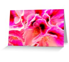 Fantasy in Pink Greeting Card