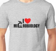 I love Microbiology Unisex T-Shirt