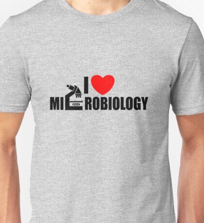 I love Microbiology Unisex T-Shirt