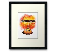 Spuddow Framed Print