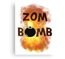 Zombomb Canvas Print