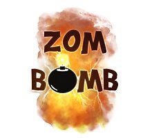 Zombomb Photographic Print