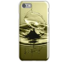 Melting Gold - Water Drops iPhone Case/Skin